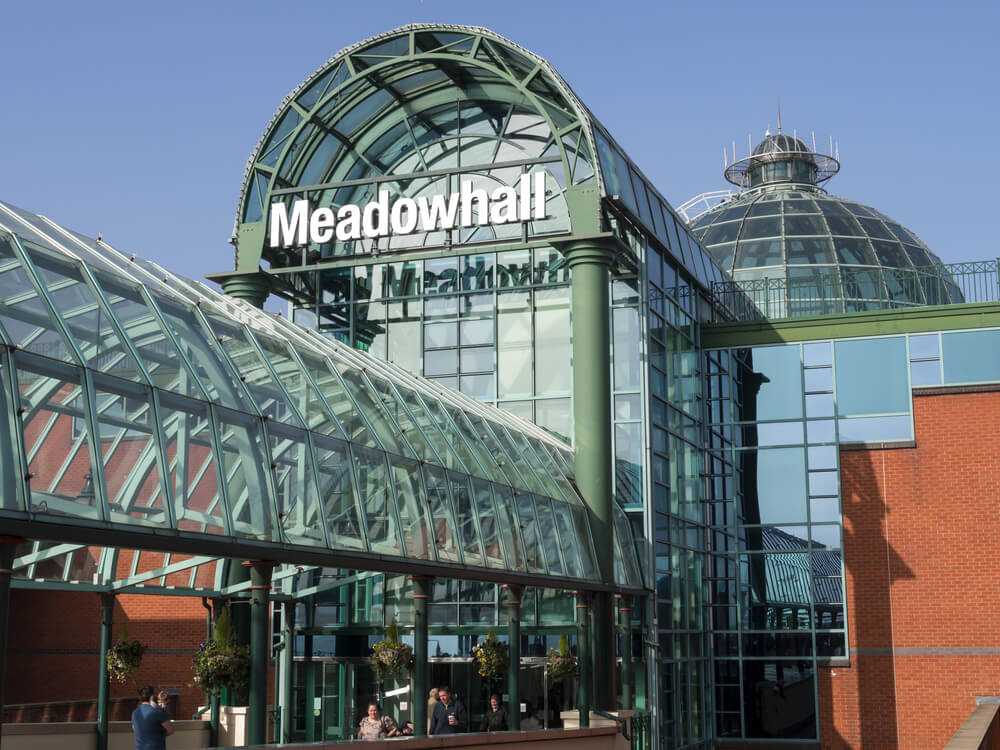 meadowhall shopping in sheffield